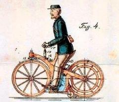 первый патент на мотоцикл